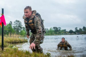 (FORT BENNING, Ga) – David E. Grange Jr. Best Ranger Competition – Day 1. (Photos by Patrick A. Albright, MCoE PAO Photographer)